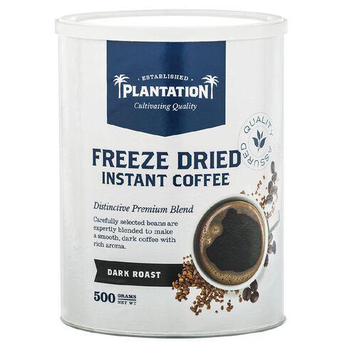 Plantation Plantation Freeze Dried Instant Coffee Dark Roast 500g
