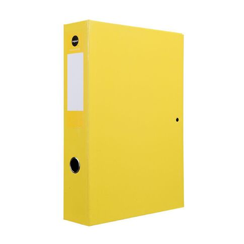 Impact Pressboard Box File Fs Yellow
