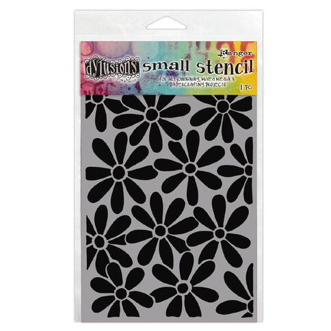 Ranger Dylusions Stencils Spring Bloom Small