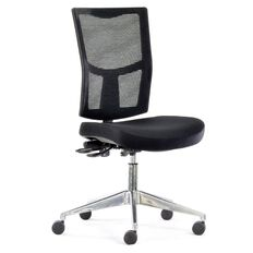 Chairmaster Urban Mesh Chair Alloy Base