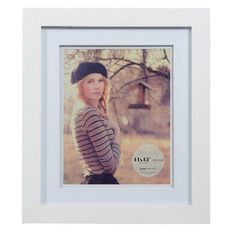 Living 11 x 13 Photo Frame White