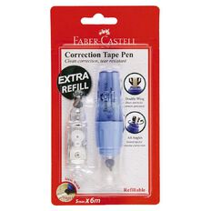 Faber-Castell Correction Tape Pen Plus Refill 5mm x 6m White