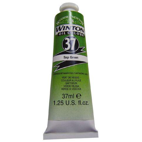 Winsor & Newton Winton Oil Paint 37ml Sap Green