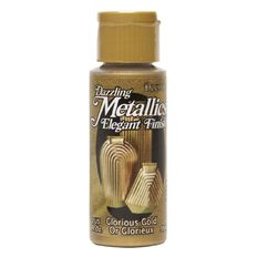 Dazzling Metallics Paint 2oz Glory Gold