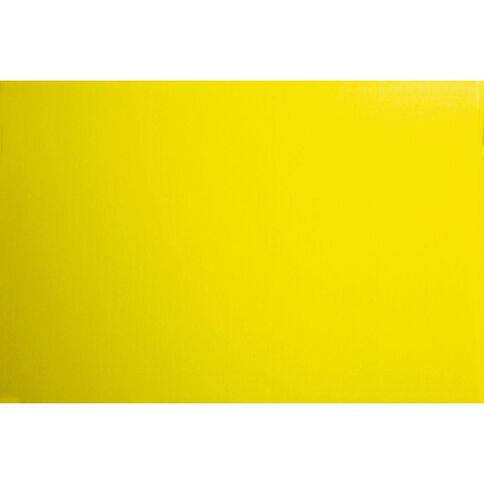 Plasti-Flute Sheet 600mm x 450mm Yellow