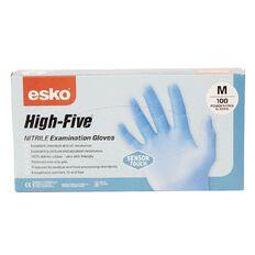 Esko High Five SensorTouch Nitrile Rubber Disposable Gloves 100 Medium