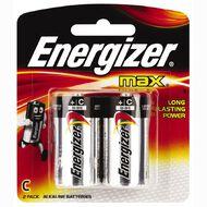 Energizer Max Batteries C 2 Pack