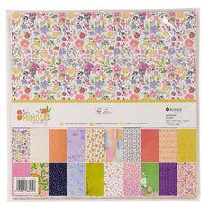 Rosie's Studio Mimosa Sunday Designer Paper Pack 20 Sheet 12x12