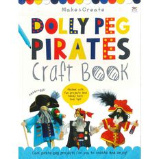 Dolly Peg Pirates Craft Book