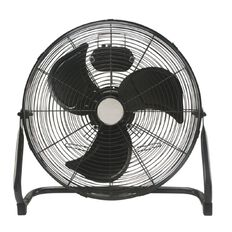 Living & Co High Velocity Floor Fan 40cm Matte Black