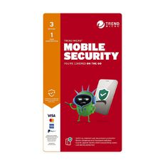 Trend Micro Mobile Security - 3 Device 1 Year