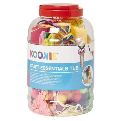 Kookie Craft Essentials Tub Plastic Pink