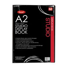 Jasart Studio Art Display Book A2
