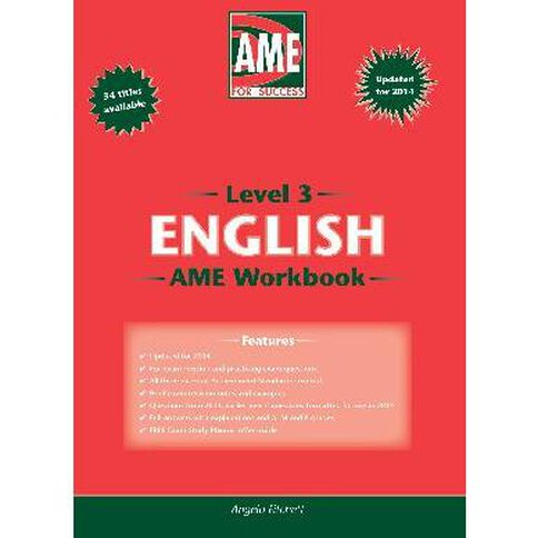 Ncea Year 13 English Workbook