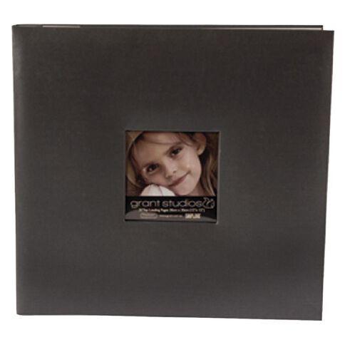 Grant Studios Scrapbook 12 x 12 Pearl Black
