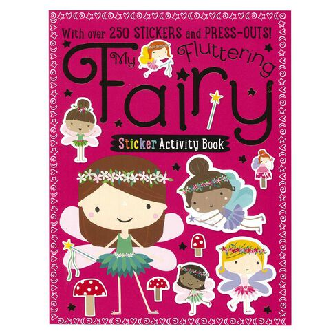My Fluttering Fairy Sticker Activity Books