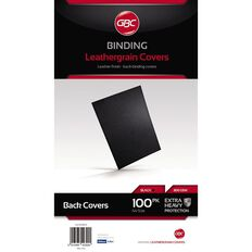 Ibico Binding Cover 300gsm 100 Pack Black