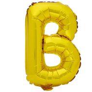 Artwrap Foil Balloon B Gold 35cm