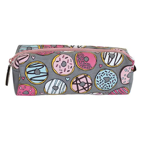 Pencil Case Donut Dreams Grey