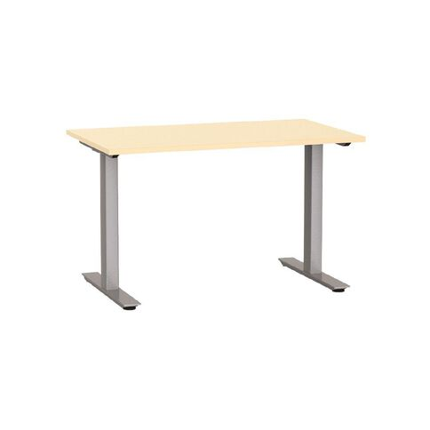 Agile Desk 1200 Nordic Maple/Silver