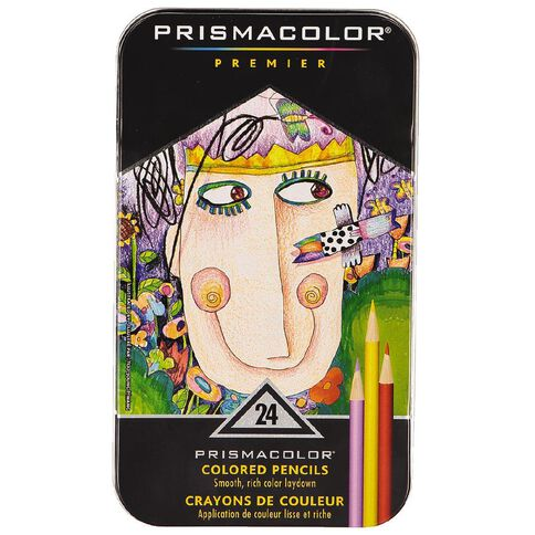 Prismacolor Premier Coloured Pencils Soft Core 24 Pack