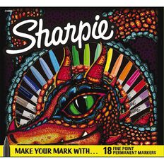 Sharpie Dragon Marker Assorted 18 Pack