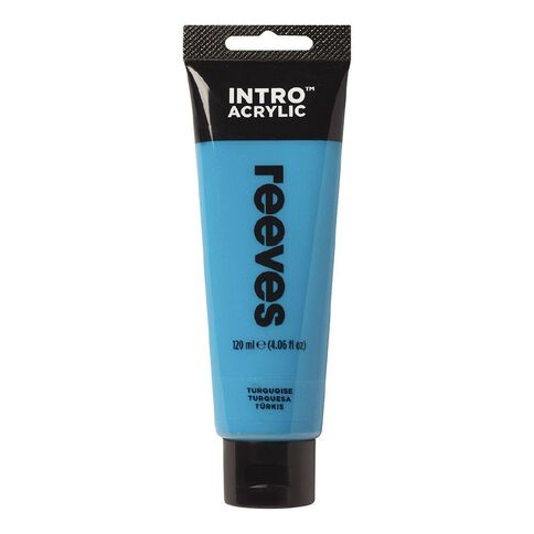 Reeves Intro Acrylic Paint Turquoise Turquoise 120ml
