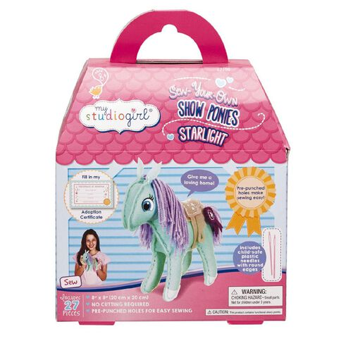 My Studio Girl Show Pony Craft Kit Starlight