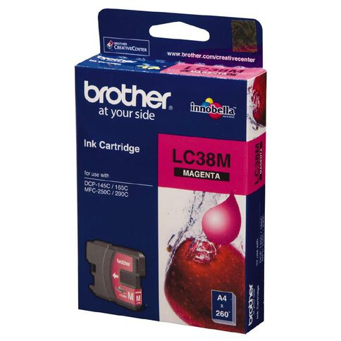 Brother Ink LC38 Magenta (260 Pages)