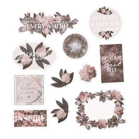 Uniti Floral Nights Die Cut Shapes