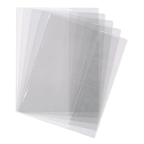 WS Book Sleeve Clear 1B5 5 Pack