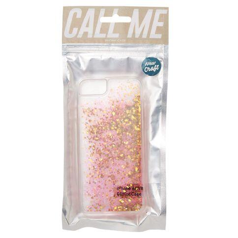 iPhone 6/7/8 New Craft Glitter Case