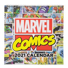 Marvel 2021 Calendar Marvel Comics 305mm X 305mm