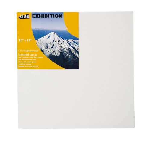 Jasart Deep Edge Canvas 12in x 12in