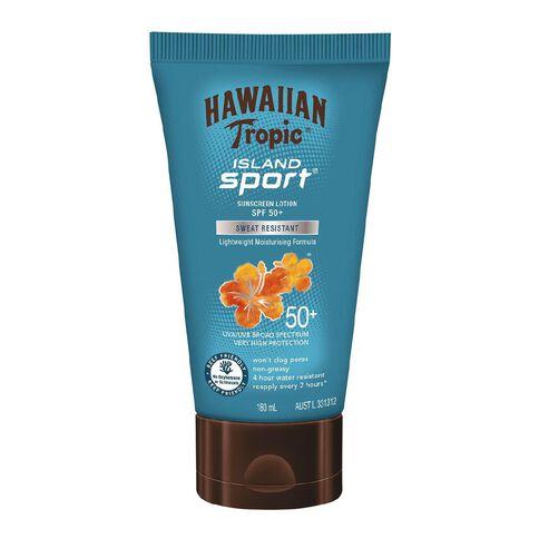 Hawaiian Tropic Island Sport Sunscreen Lotion SPF50+ 180ml