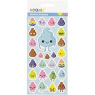 Kookie Sticker Sheet Scented 3 Assorted