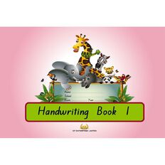 GT Handwriting Book 1 Pink