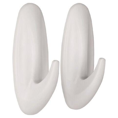 Command Designer Hook White Medium