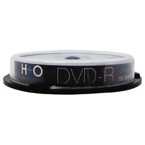 H+O Dvd-R 16X 4.7 GB 10-Pack