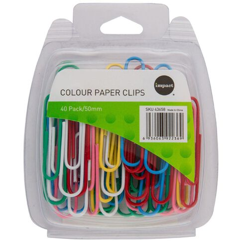 WS Paperclips 50mm 40 Pack
