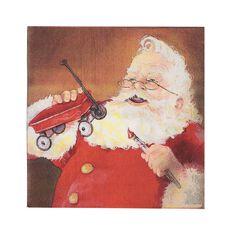 Wonderland Festive Napkins Traditional Santa 33cm x 33cm 40 Pack