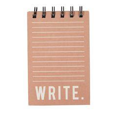 Uniti Craft Spiral Notepad Pink