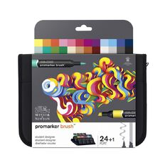 Winsor & Newton Promarker Brush Set 24