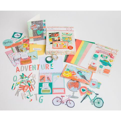 Grace Taylor Away We Go Card Making Kit Multi-Coloured