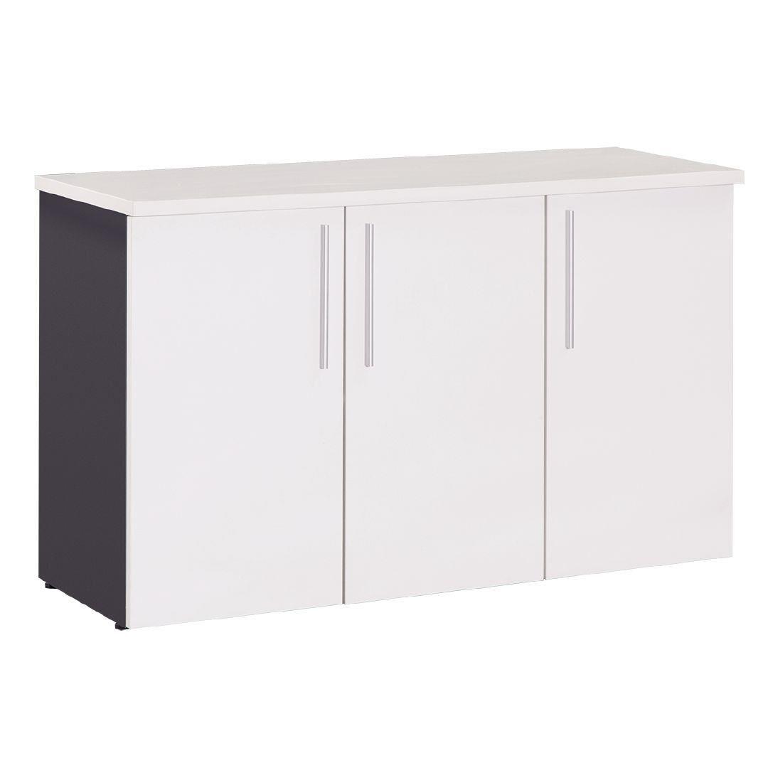 Workspace Office Credenza White 1200