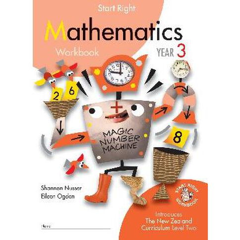SR Year 3 Mathematics Workbook