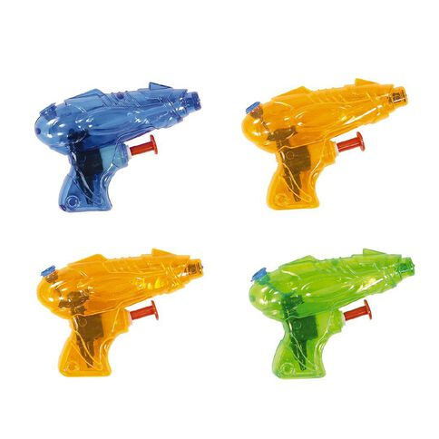 Party Inc Water Pistols 4 Pack Assorted