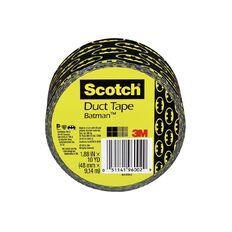Scotch Duct Craft Tape 48mm x 9.14m Batman