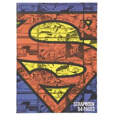 Superman Scrapbook 64 Page