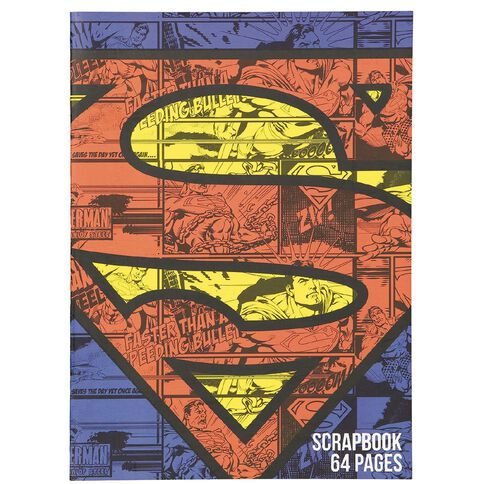 Superman Scrapbook 64 Page